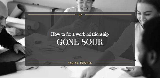 Relationship gone sour