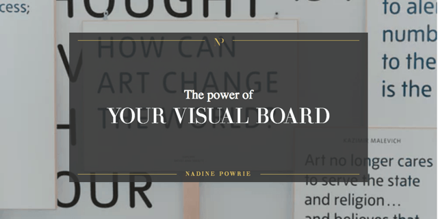 The power of your visual board