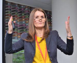 Nadine Powrie in London 2018