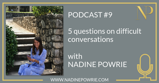 5 questions on difficult conversations
