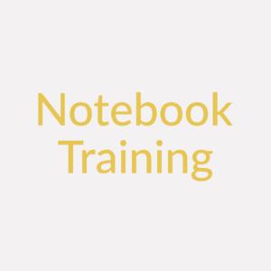Notebook Training