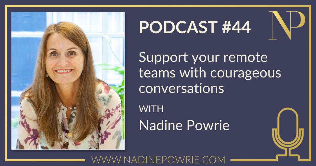 Nadine Powrie podcast 44