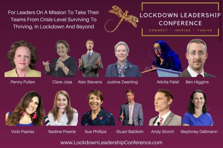 Nadine Powrie leadership conference
