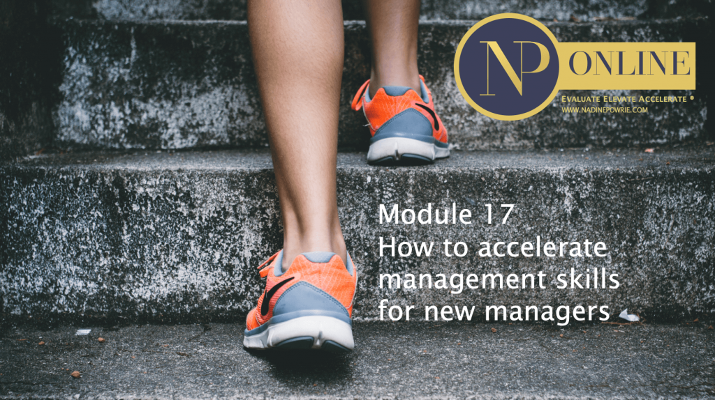 Nadine Powrie Consultancy Online Training Module 17