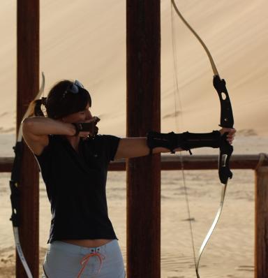 Nadine Powrie Archery