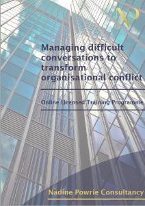 Nadine Powrie Consultancy Online Training Brochure