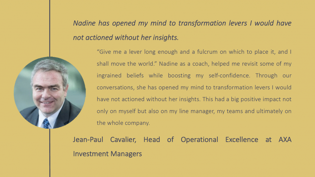 Jean-Paul Cavalier testimonial