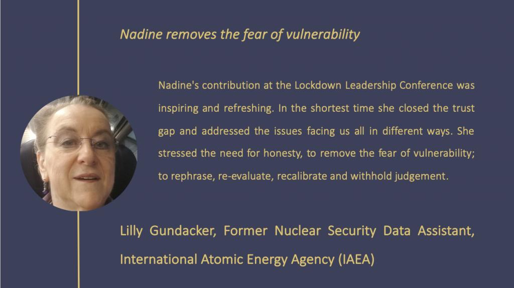 Lilly Gundaacker testimonial
