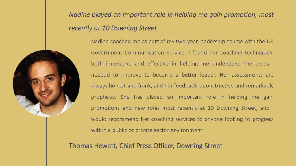 Thomas Hewitt testimonial
