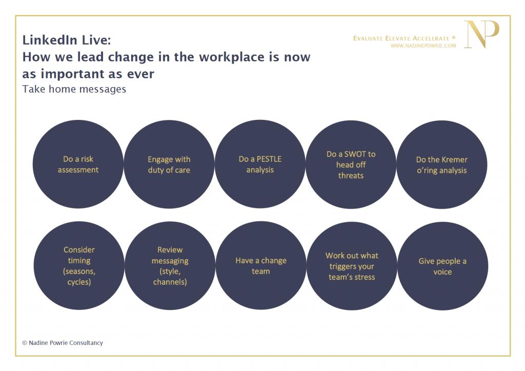 LinkedIn Live on change