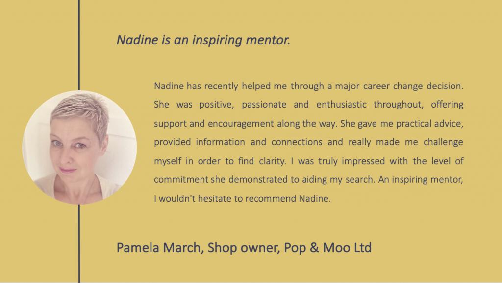 Pamela March testimonial