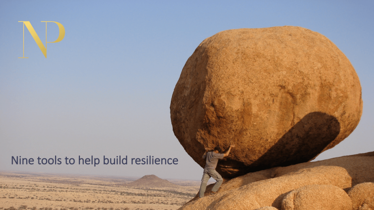 Nadine Powrie's 9 resilience tools