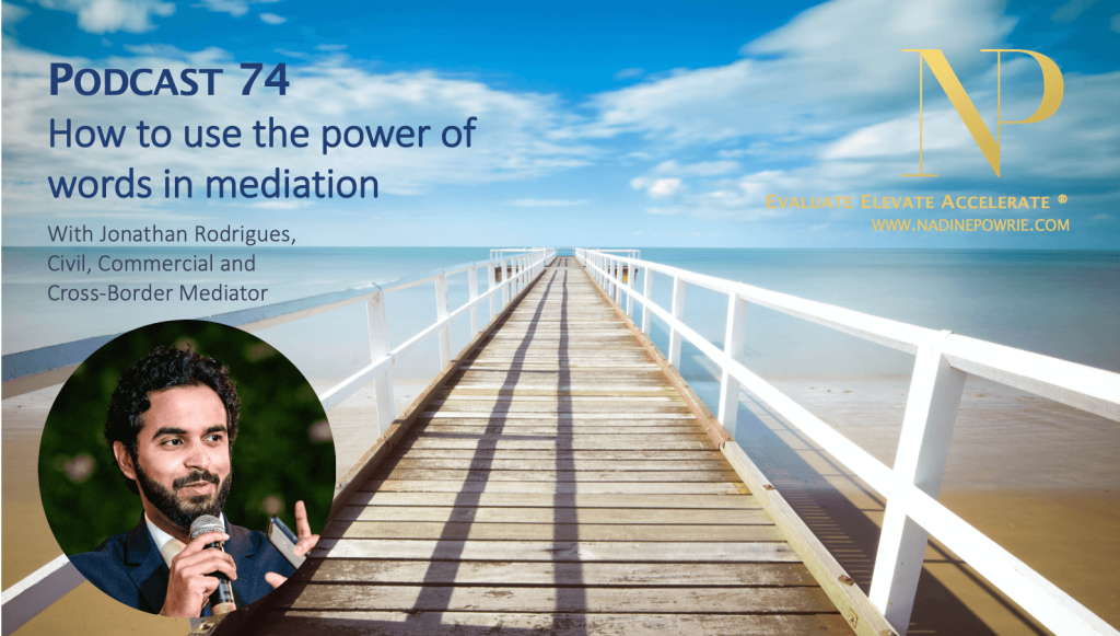 How to use the power of words in mediation