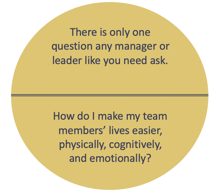 Nadine Powrie leadership question