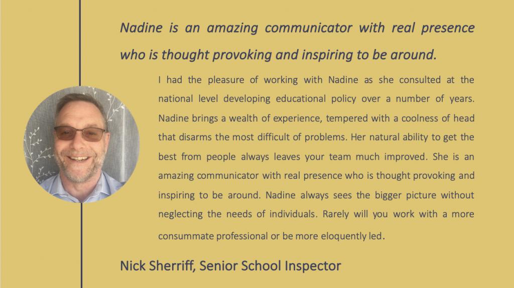 Nick Sherriff testimonial