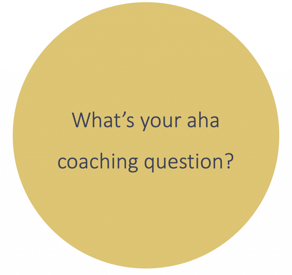 Nadine Powrie's coaching question for resilience