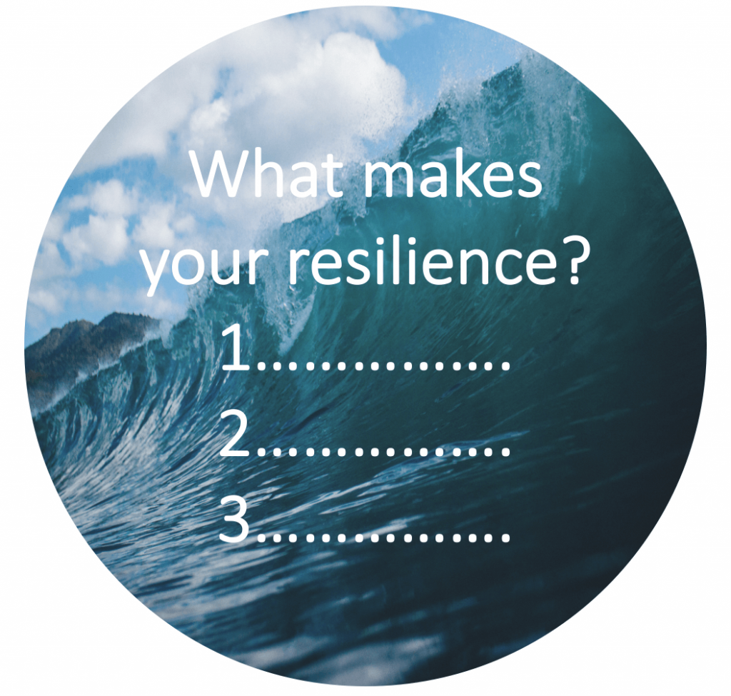 Nadine Powrie's resilience question