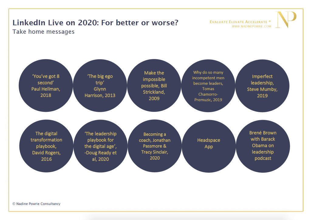 2020 for better or worse