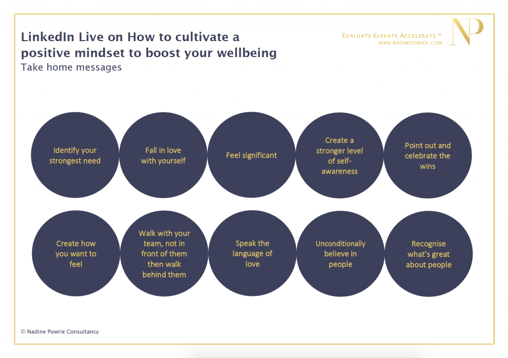 How to cultivate a positive mindset to boost your wellbeing
