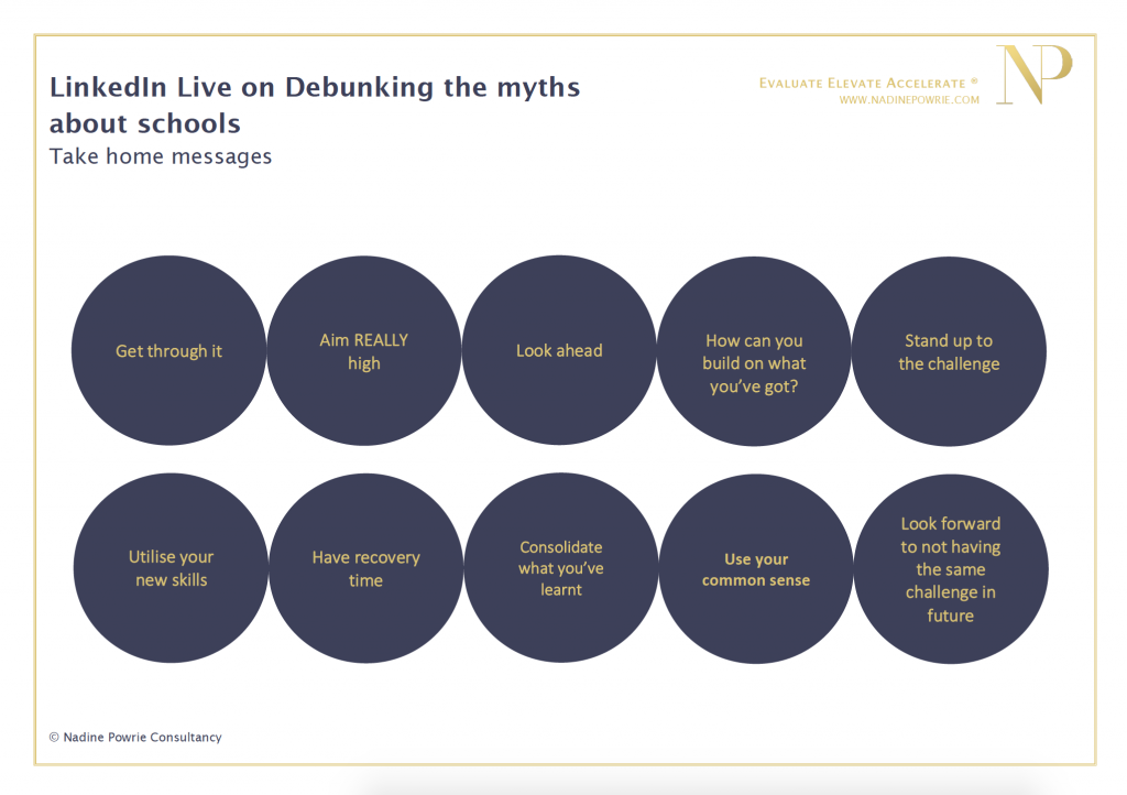 Debunking the myths about schools