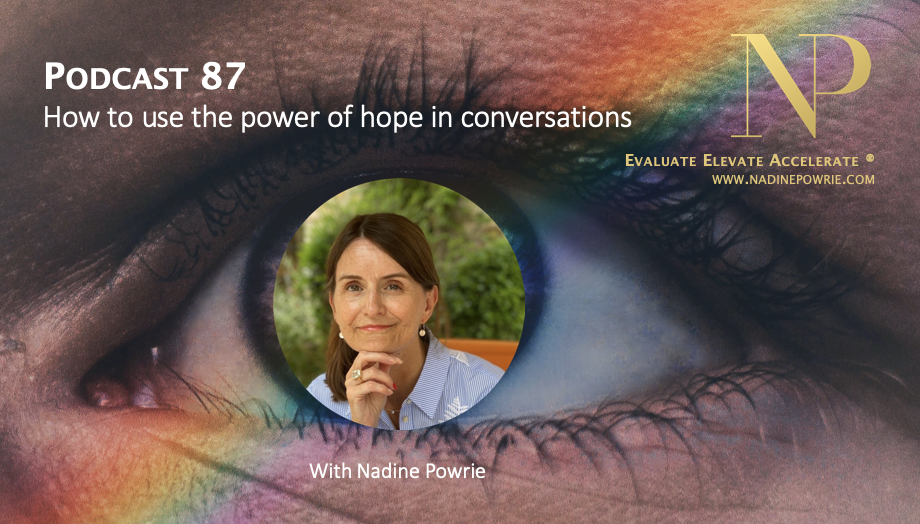 The power of hope in conversations