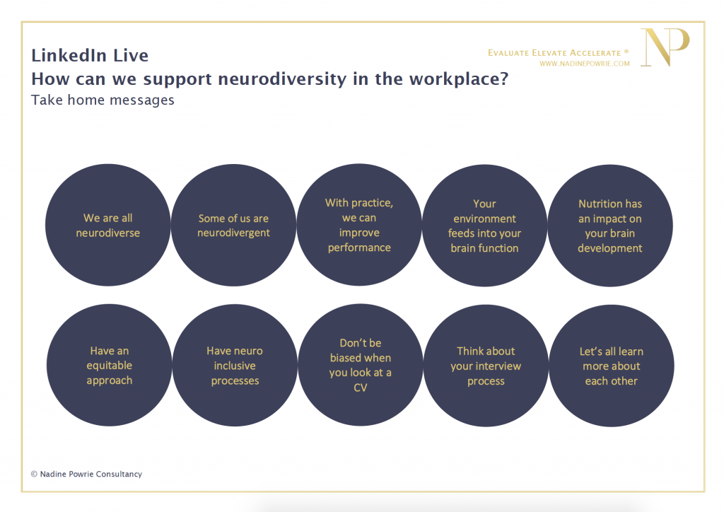 How can we support neurodiversity in the workplace as parents and as educators