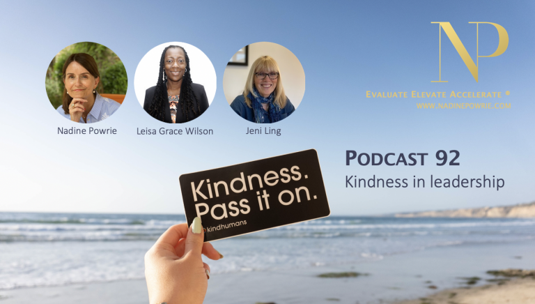 Kindness in leadership