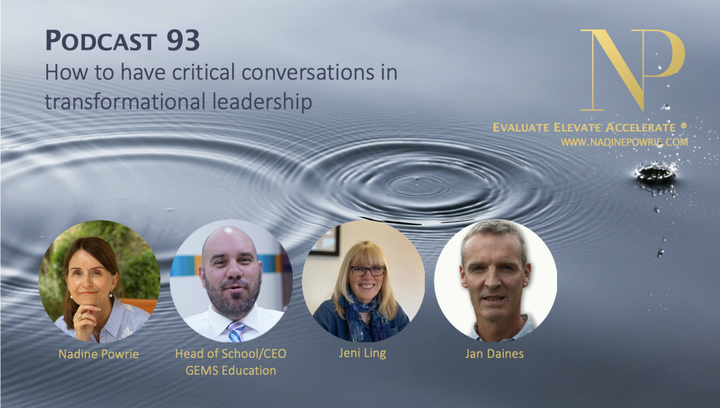How to have critical conversations in transformational leadership