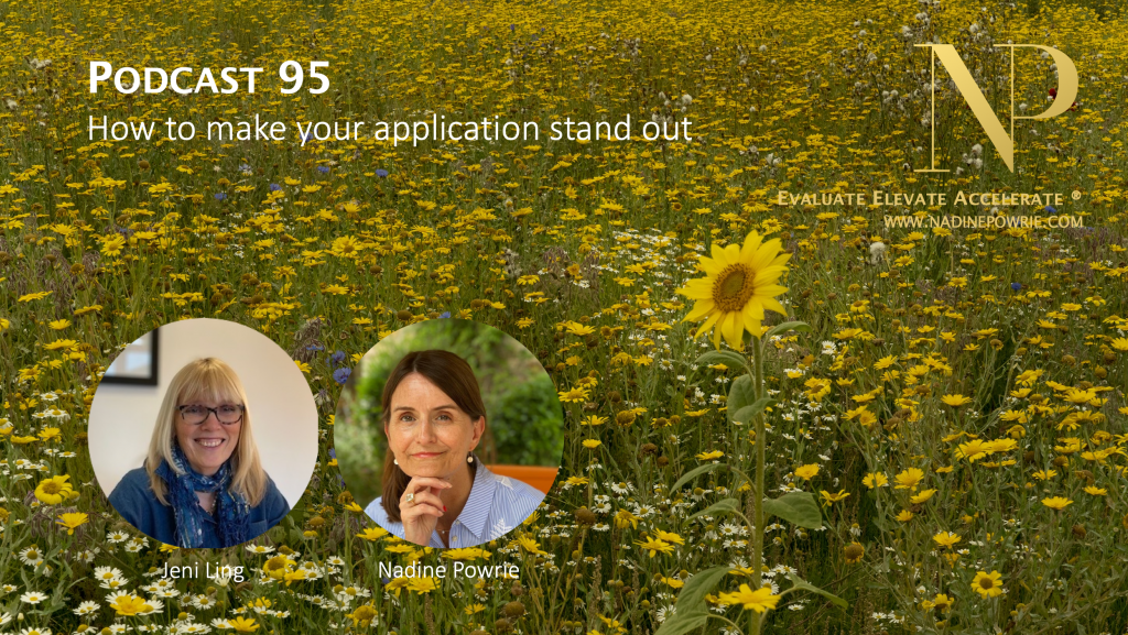 How to make your application stand out