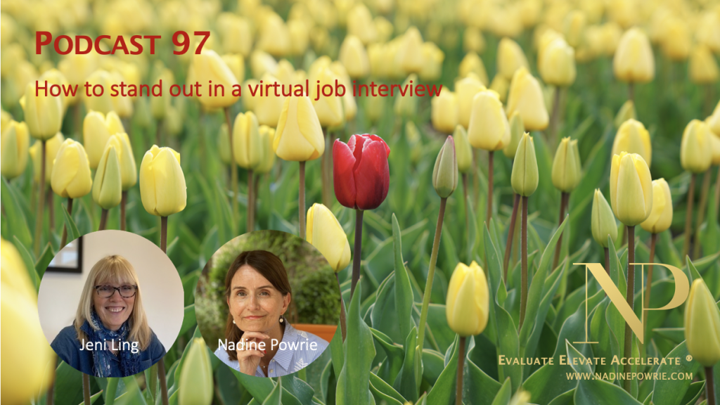 How to stand out in an a virtual job interview