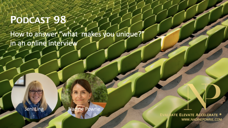 How to answer what makes you unique in an online interview
